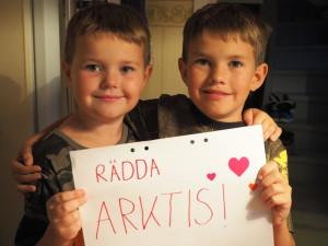 Familjen Nicklassons insamling - Rädda Arktis!