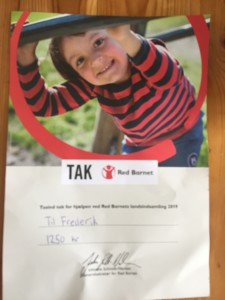 Red Barnet Landsindsamling -  Frederik & Mai-Britt
