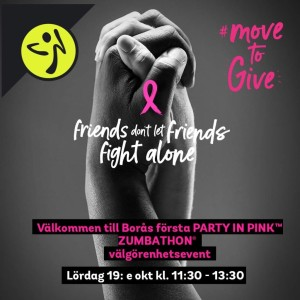 Party In Pink Borås 2019