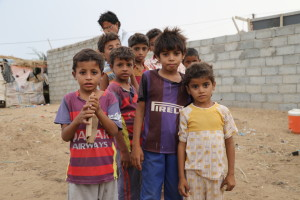 Giv mad til børn på flugt i Yemen