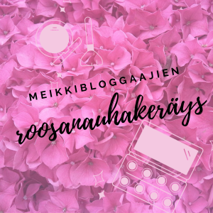 Meikkibloggaajien roosanauhakeräys