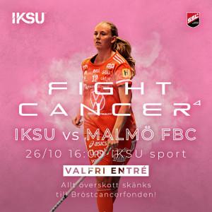 IKSU innebandy för Bröstcancerfonden