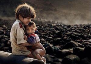hjælp de fattig børn i syrien.