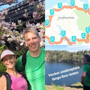 Skepparholmen springer/vandrar för Östersjön