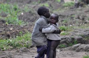 Red børn for hungersnød og flugt