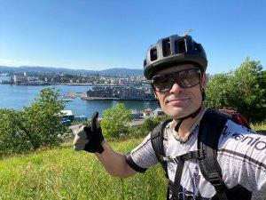 Kreftforsker sykler Norge Rundt for kreftsaken