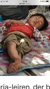 Hjælp de forældreløse børn i Moria lejren