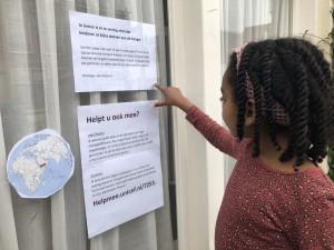 Help Sara met haar actie voor Jemen: geef lege statiegeldflessen!