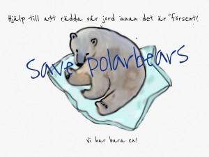 Hjälp Skapafyran att rädda isbjörnarna!