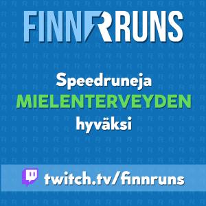 FinnRuns '21 - Speedruneja mielenterveyden hyväksi