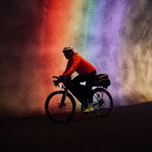 Viggo sykler Norge på tvers for Mental Helse.