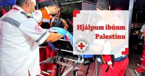 Hjálpum íbúum Palestínu