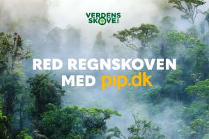 Red regnskoven med PIP.DK