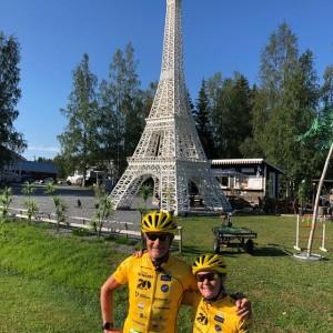 Kerstin & Utti - cyklar tillsammans för de små