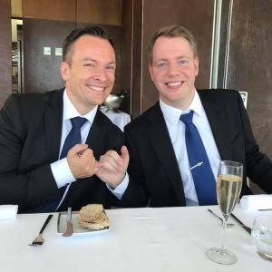 Torkel og Øyvinds bryllupsfest