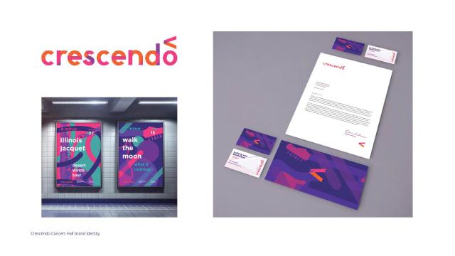 Crescendo Concert Hall Brand Identity