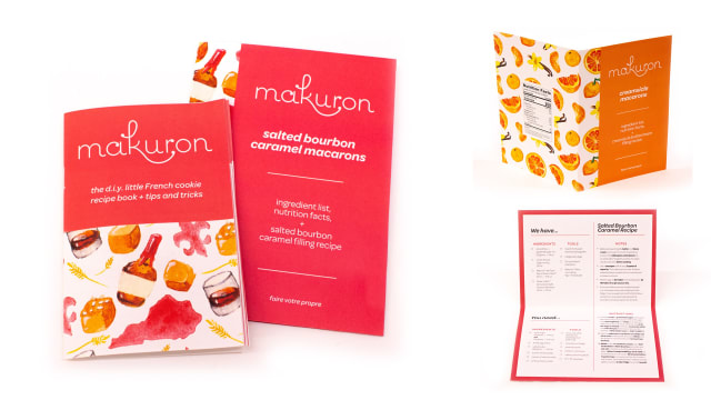 Makuron Cookie Kit - Packaging & Identity