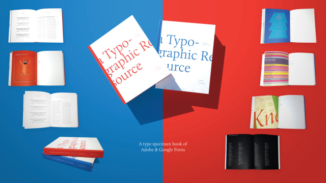 Typographic Resource of Adobe & Google Fonts Volumes 1 & 2