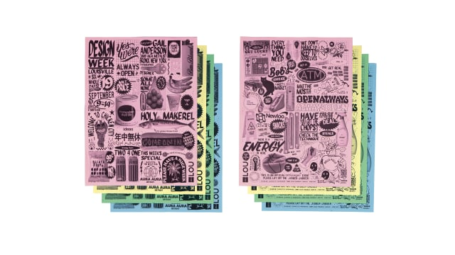 AIGA Louisville Design Week Circular