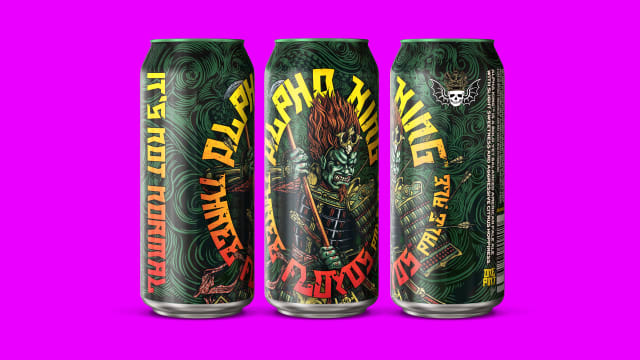 Alpha King 16oz Cans