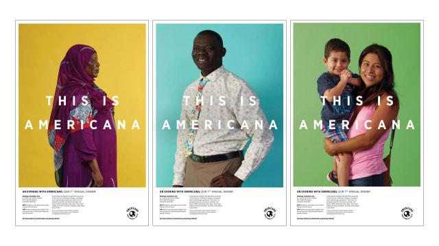 Americana Center Poster Campaign