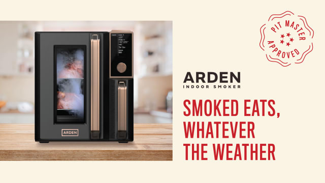 Arden Indoor Smoker Branding