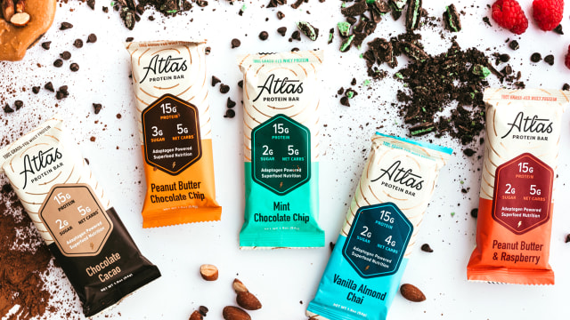 Atlas Bar Rebrand & Packaging