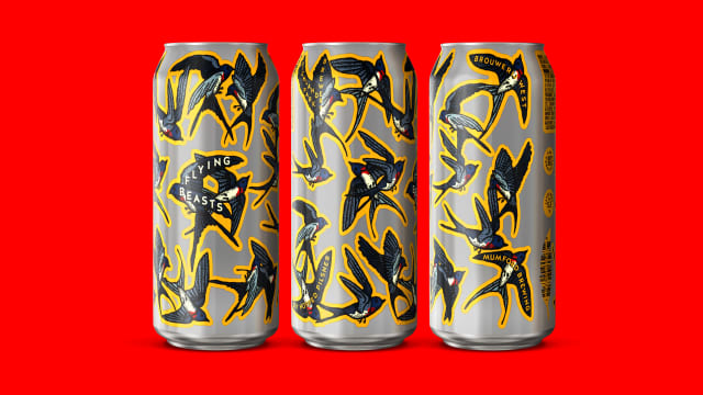 Flying Beasts Multi-Label 16oz cans