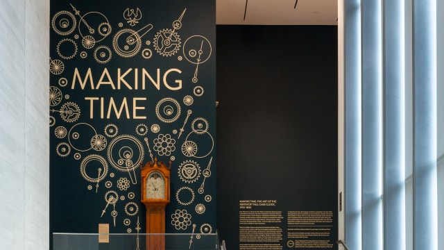Making Time Exhibition Graphics