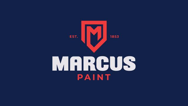Marcus Paint Brand Identity