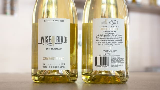 Wise Bird Cider Co. Labels