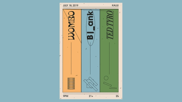 Wombo, Ted Tyro, B|_ank live at Kaiju