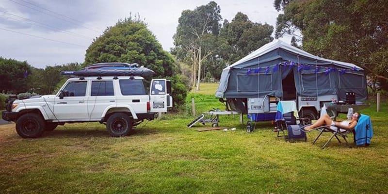 Free camping warrnambool