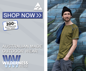 Wilderness Wear - Australian made outdoor wear