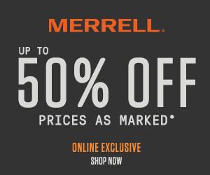 Merrel - 50% off
