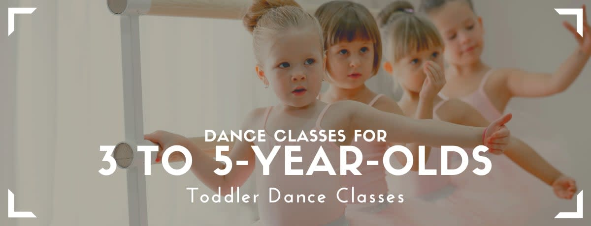 Toddler Dance Classes For 3 to 5-Year-Olds