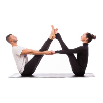 Abs and stretching Fitness Class