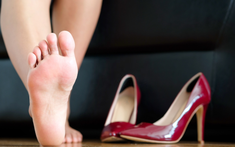 How to heal deep cracked heels
