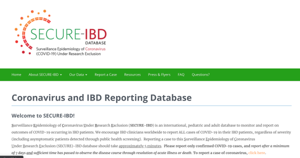 Secure-IBD and the Epidemiology of COVID-19 and IBD