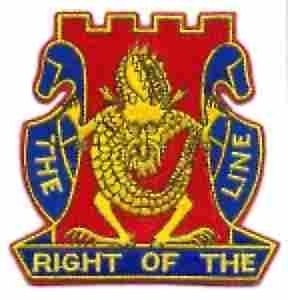 14th Infantry Regiment Cap Crest