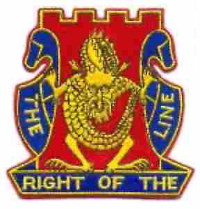 25th Division 14th Infantry Regiment Jacket Patch