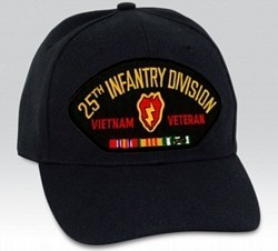 "25th ID ""Vietnam Veteran"" with Ribbons Cap"