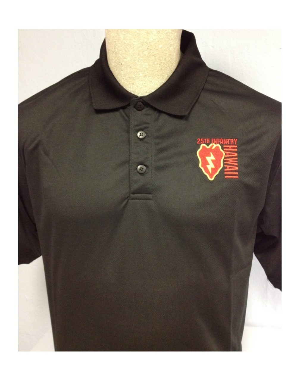 25th Infantry Division Polo in PlayDry