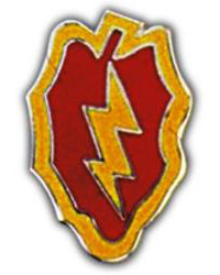 25th Infantry Division Cap Pin