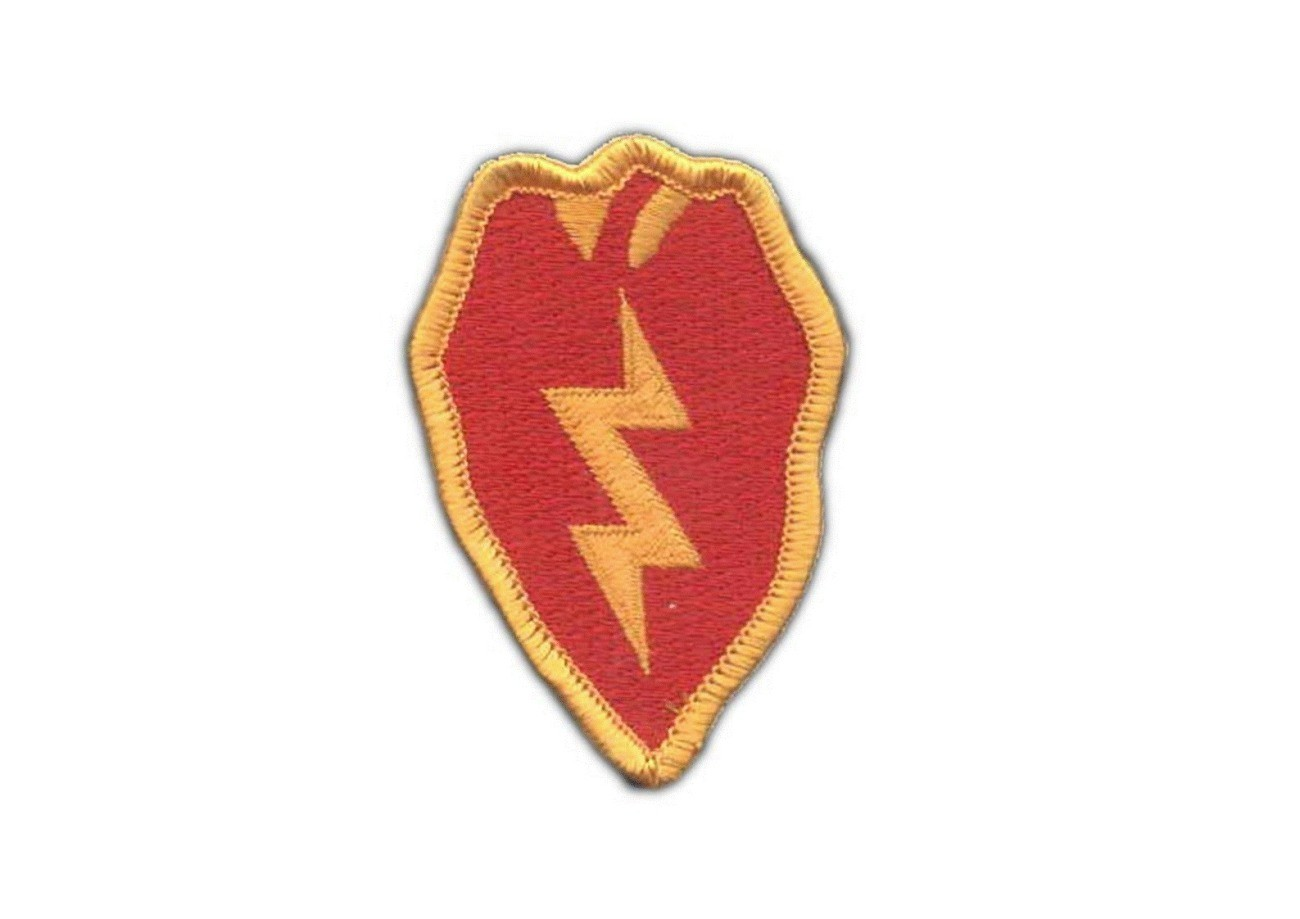 25th Infantry Division Shoulder Patch Full Color