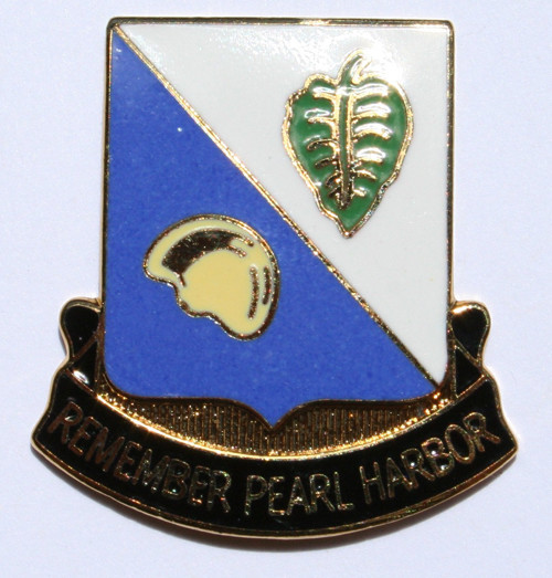 100th Bn Insignia Pin Original Design