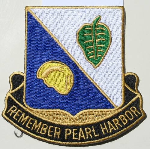 100th Bn Large Jacket Patch (Original Insignia)