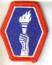 442 Shoulder Patch (Torch Design)