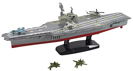 Aircraft Carrier Desktop Model