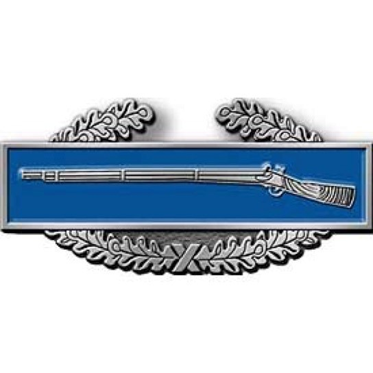 Combat Infantry Badge Belt Buckle